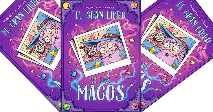 44 ILUSTRACIONES DE MAGOS HACIENDO COSAS DE MAGOS, 1 CÓMIC, 2 ENTREVISTAS, SANGRE DE UNICORNIO. Creado por Sabrina Cámara y Cristian Timoneda. http://www.grafitoeditorial.com/shop/gran-libro-de-los-magos/