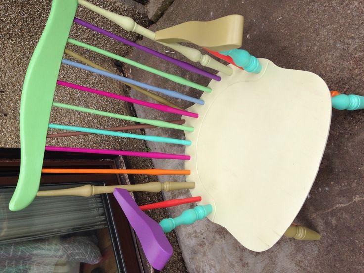 Rainbow fireside chair xx
