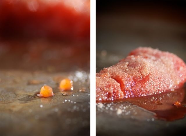 Salted & Smoked Salmon Roe / http://nourishedkitchen.com/salmon-roe-recipe/