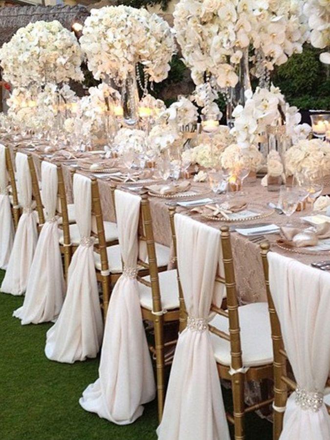 свадебное украшение стульев - Поиск в Google