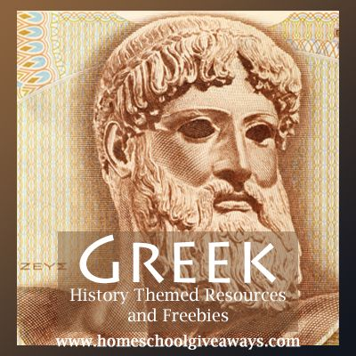 Big List of Greek History Themed Resources and Freebies