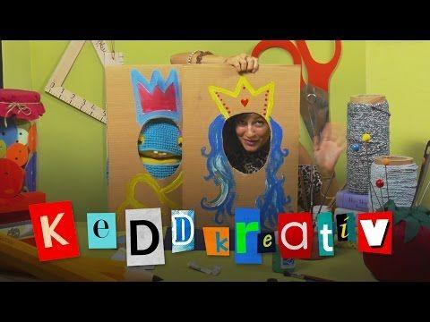 KEDDkreatív: Képkeret - YouTube