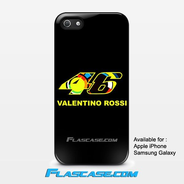 Valentino Rossi 46 Logo Apple iPhone 4/4s 5/5s 5c 6 6 Plus Samsung Galaxy S3 S4 S5 S6 S6 EDGE Hard Case #AppleiPhoneCase #SamsungGalaxyCase