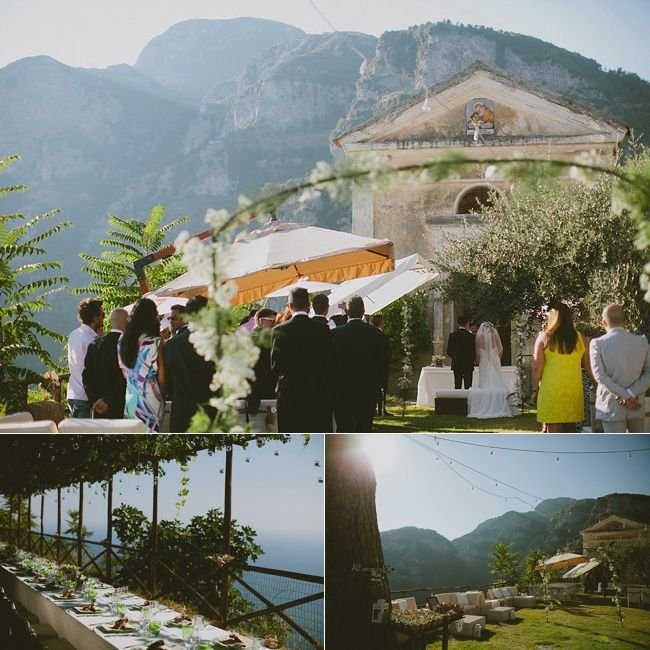 Breathtaking Wedding Venues On The Amalfi Coast Beautiful Wedding
