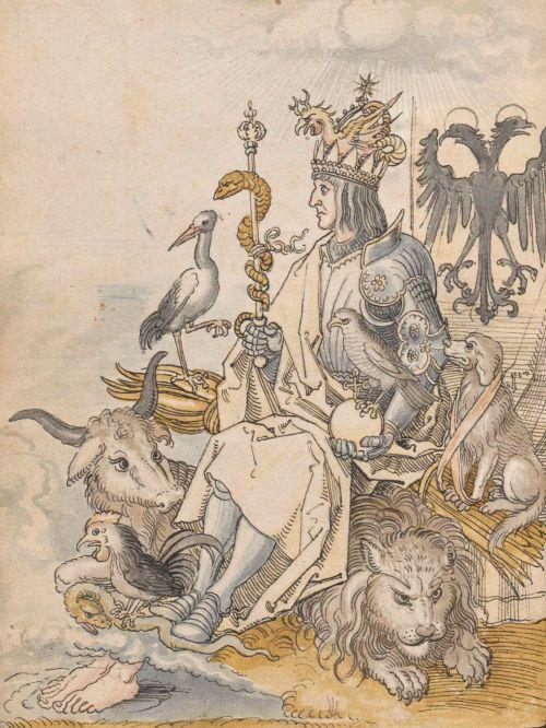 """magictransistor: """" Albrecht Dürer, Hieroglyphica Horapollinis, 1508. """""""
