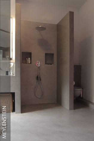 offenes Badezimmer