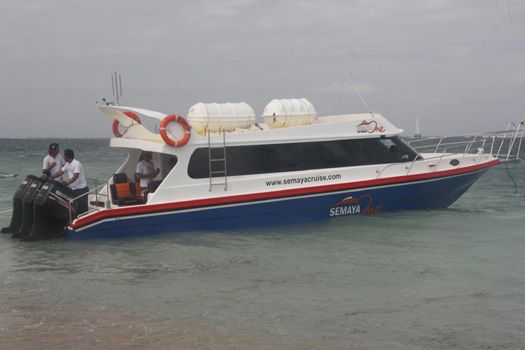Semaya One fast boat from Bali to Gili Air. Departs from Sanur area.