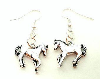 VENDITA cavallo orecchini cavallo gioielli paese ragazza regalo paese ragazza gioielli equestre Gioielli Trend ora vendita gioielli R1595