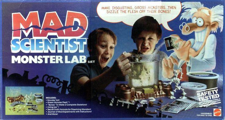 Mad Scientist Laboratory Toy Mad scientist monster lab