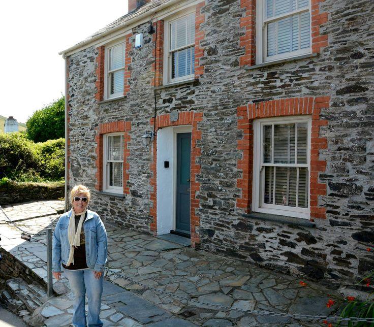 Beach House Rentals New England: At Doc Martin's Surgery. :) Port Isaac/Port Wenn