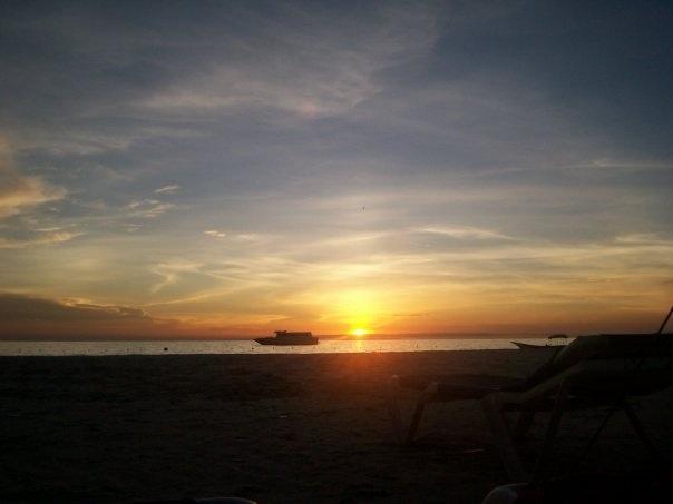 Atardecer en la Isla de Coche, Venezuela.