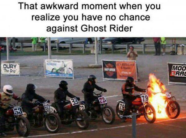 Image result for ghost rider meme