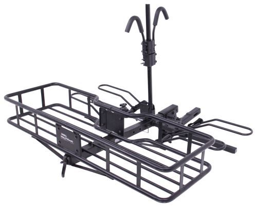 "Hollywood Racks Sport Rider SE2 Platform 2 Bike Rack w/Cargo Carrier - 2"" Hitches - Frame Mount Hollywood Racks Hitch Bike Racks HR1450-85"