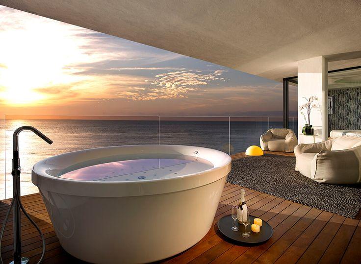 Les 25 meilleures id es de la cat gorie hotel jacuzzi sur - Jacuzzi en terraza ...