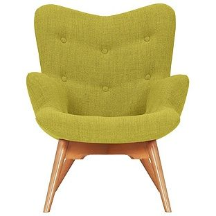 Buy Hygena Angel Fabric Chair - Yellow at Argos.co.uk, visit Argos.co.uk to shop online for Armchairs and chairs