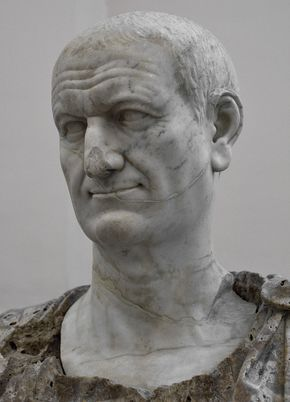 Vespasian. Marble. Ca. 80 CE. Inv. No. s.n. Naples, National Archaeological Museum. (Photo by I. Sh.).