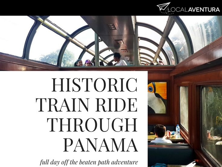 If you're taking a trip to Panama, see historic and beautiful sites while on board the longest running railroad. On this tour you'll have the chance to visit the banks of the Panama Canal, the new locks, Lake Gatun, and Fort San Lorenzo in Charges National Park.