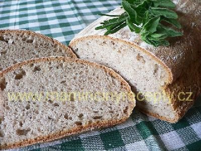 Kváskový chléb podmáslový