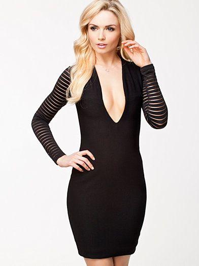 Belle Mini Dress - Aq/Aq - Sort - Festkjoler - Tøj - Kvinde - Nelly.com