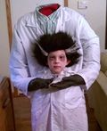 The Mad Scientist Who Lost His Head Costume