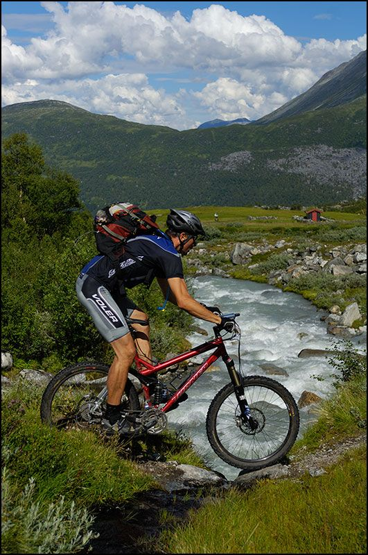 norway mountain biking pictures and helmetcam mtb videos