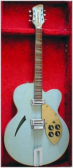 '1958-'1962 Rickenbacker 360F with case. Love the finish on this classic!