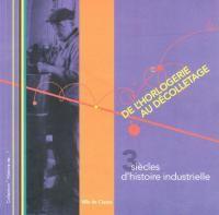 """Livre """"Cluses de l'horlogerie au decolletage"""" http://www.gpps.fr/Guides-du-Patrimoine-des-Pays-de-Savoie/Pages/Site/Publications/Publications-Haute-Savoie-province-du-Faucigny"""