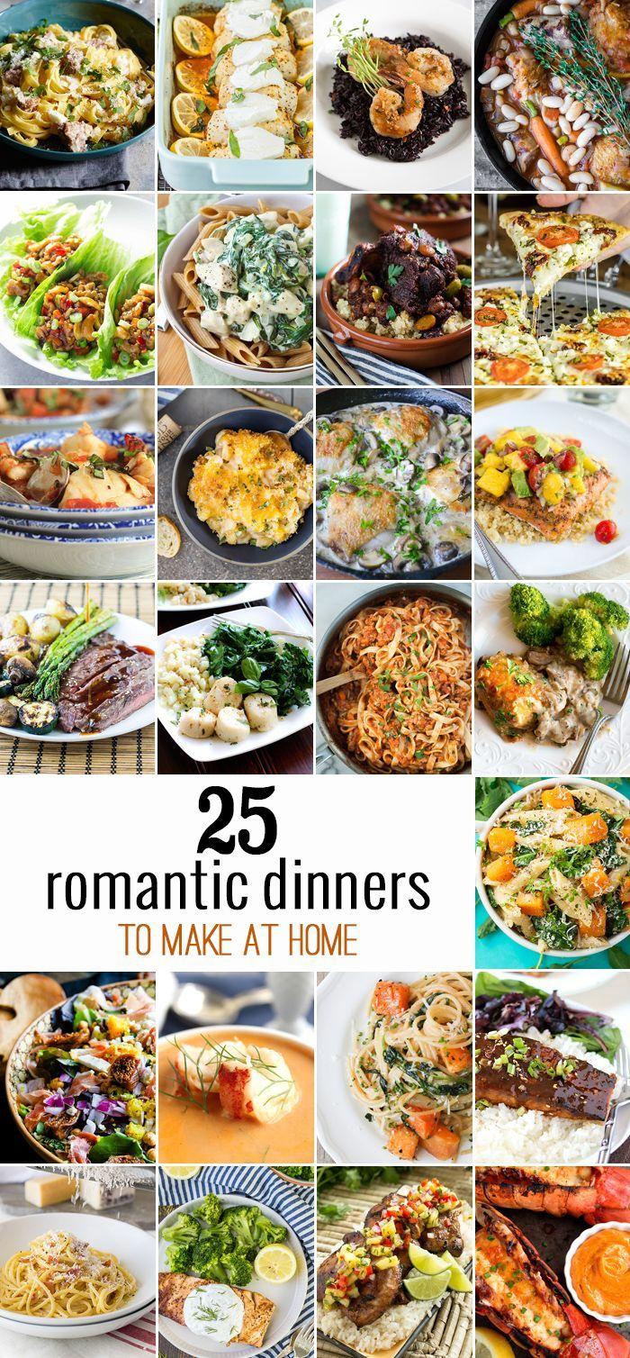 Best 25 Romantic Dinners Ideas On Pinterest