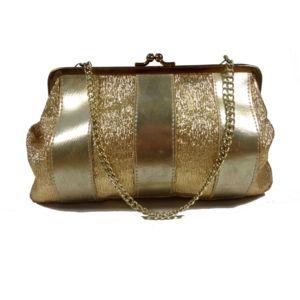 Vintage gouden clutch