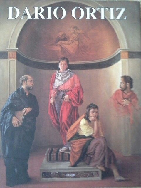 Libro  d Juan Carlos Conto sobre la obra de Dario Ortiz donde se estudia su propuesta estetica desde cuatro angulos ( formal -estructural -simbolica y conceptual )
