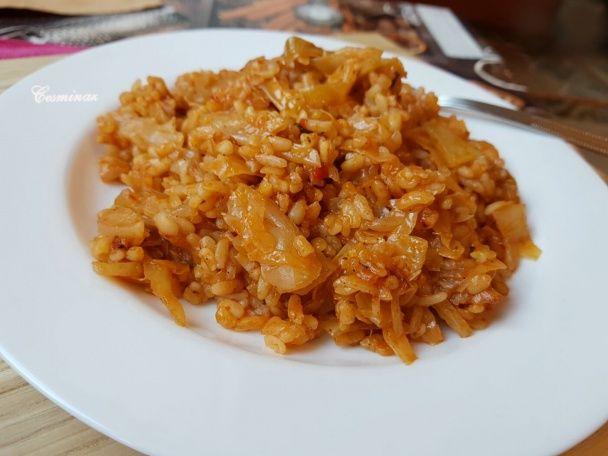 Lahanalı pilav/ Kapustové rizoto
