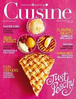 Cuisine Magazine, Jan/Feb 2013 (recipe index)