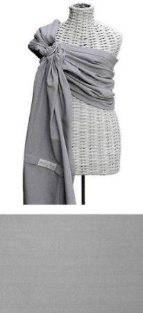 Amazon.com: Maya Wrap Lightly Padded Ring Sling-New 2010 Colors (Medium, Dark Grey Stripe): Baby