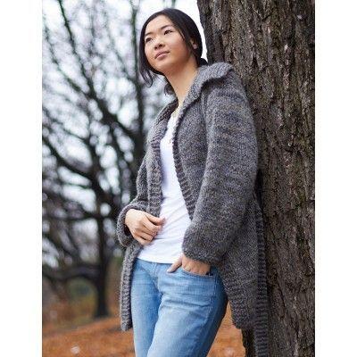 Free Easy Women's Cardigan Knit Pattern