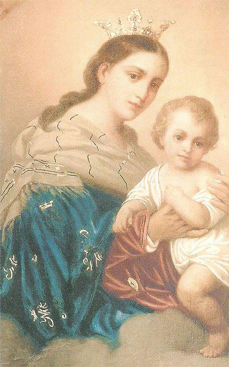 Pintura de Nuestra Señora del Refugio