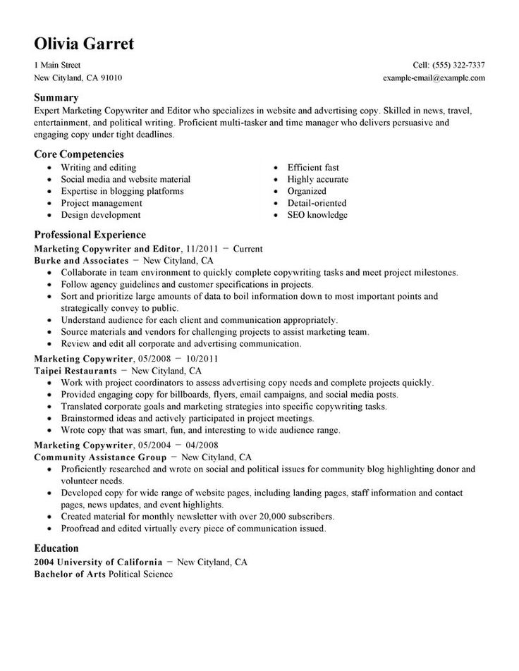 Best Resume Editor Website For Phd - Specialist's opinion