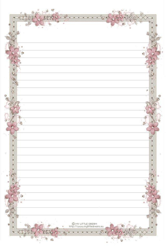 335  framed lined paper