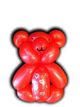 Balloon Teddybear (by Jenny's Alchemy)