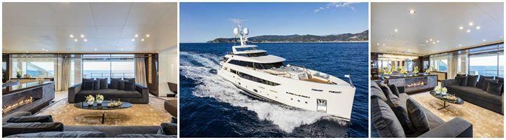 Zum ersten Mal #Biokamin auf einer Superyacht von Mondomarine!  #Kamin Planika #Yacht #segeln