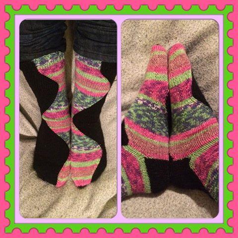 Stitch Surfer pattern from Knitty.
