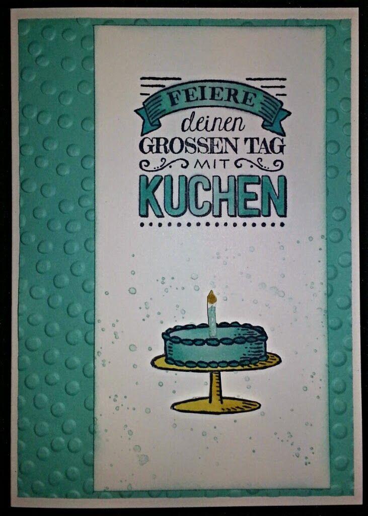 Tanja´s Stempel Zauberland: GeburtstagskarteDa ich bereits seit einiger Zeit ...