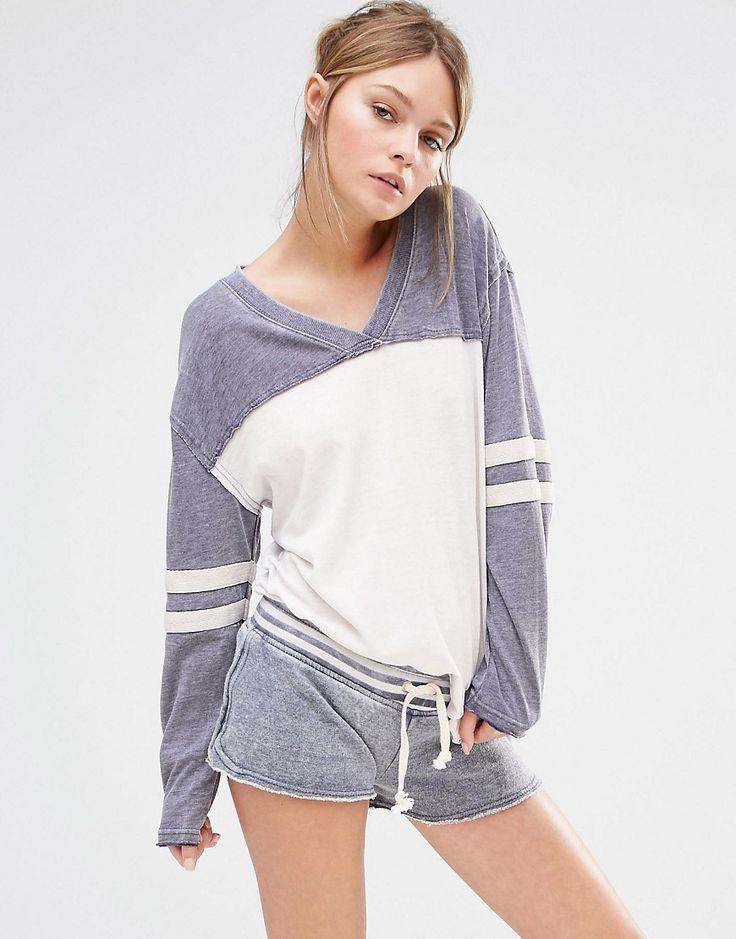 Image 1 - Ocean Drive - T-shirt avec manches rayées