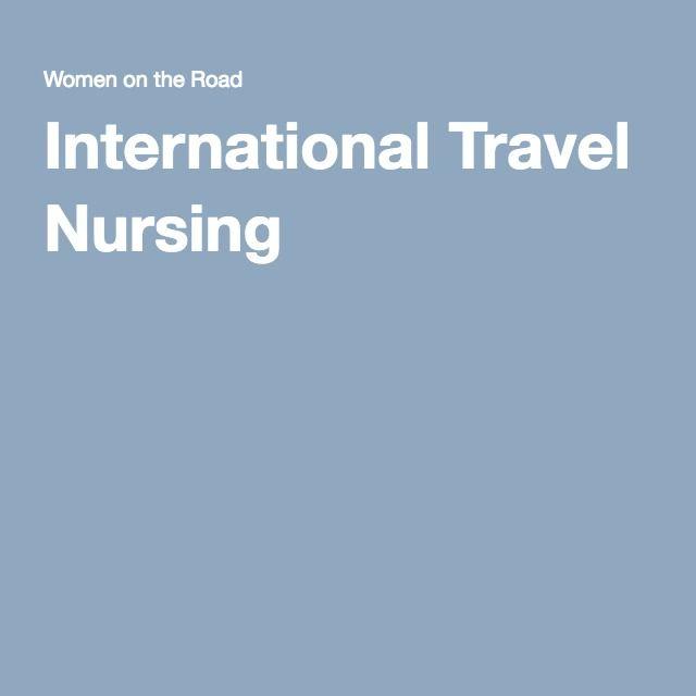 International Travel Nursing