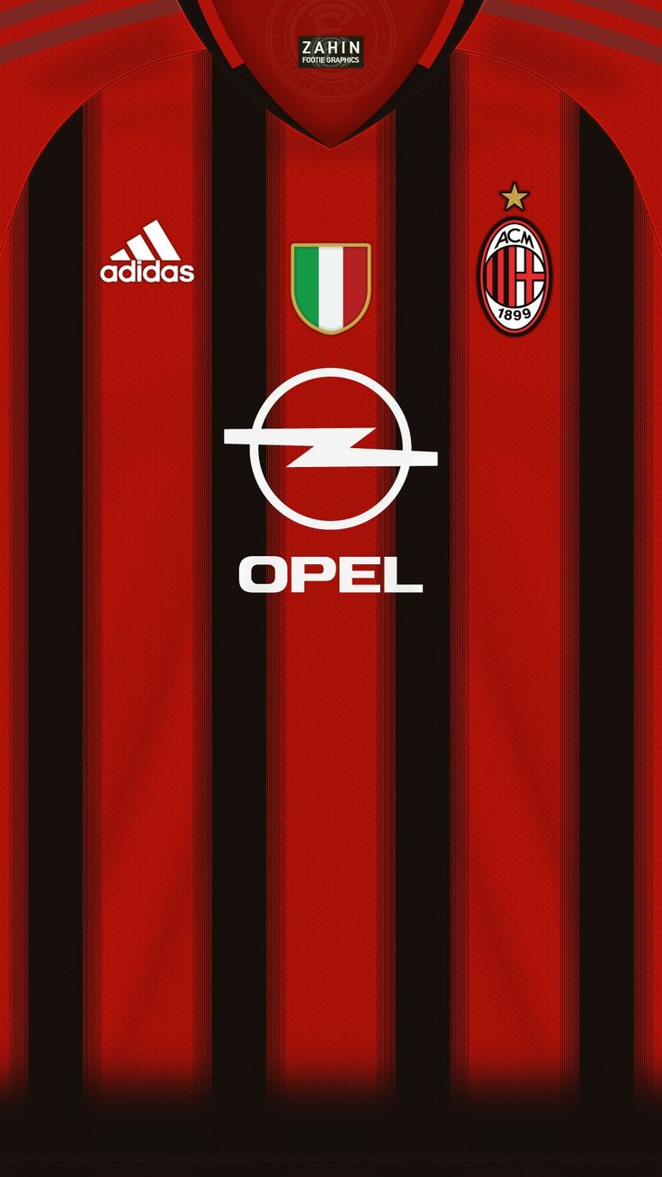 AC Milan 04-05 kit home