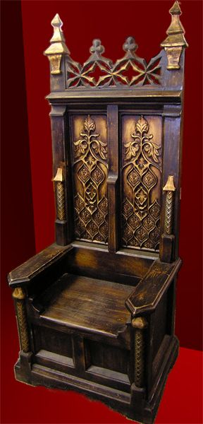 Prop Throne Chair | Props for hire