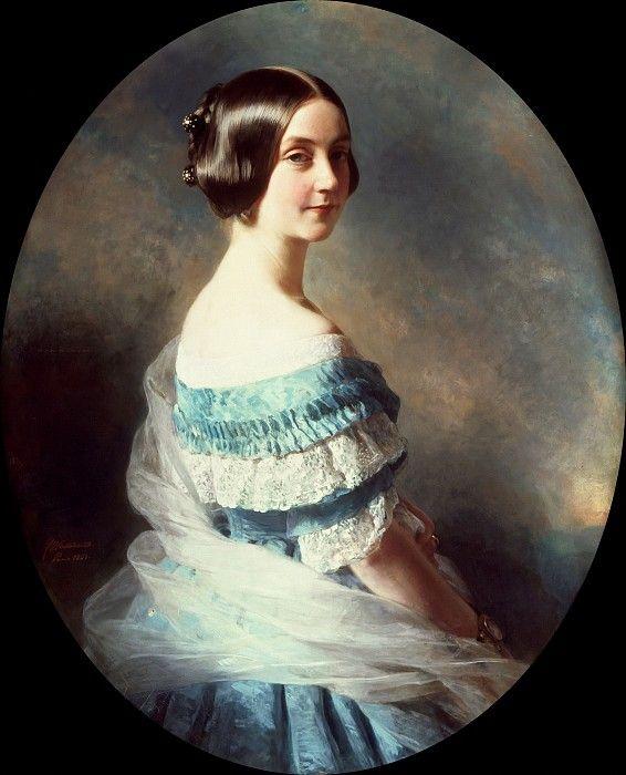 Баронесса Елена Малле (1825–1896). Франц Ксавьер Винтерхальтер