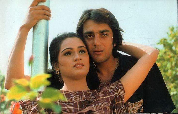 Padmini Kolhapure & Sanjay Dutt