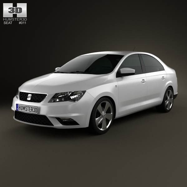 Seat Toledo Mk4 2012 3d model from humster3d.com. Price: $75