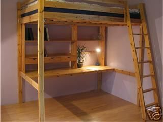 loft bed - Bunkers Loft Bed