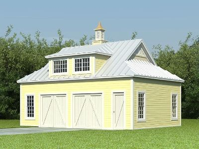 Modular farm house plans car garage carriage house for Modular carriage house garage